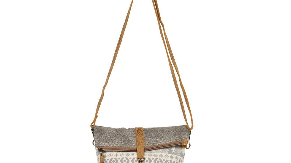 MYRA IMBRICATE SMALL CROSS BODY BAG