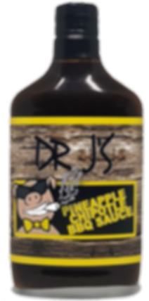 Dr J's Pineapple Chipotle BBQ Sauce