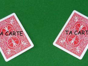 MA CARTE, TA CARTE | 15 €