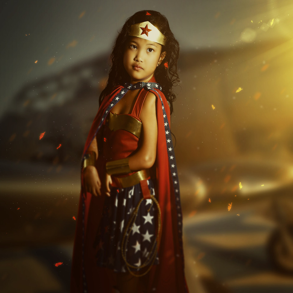 Young heroine