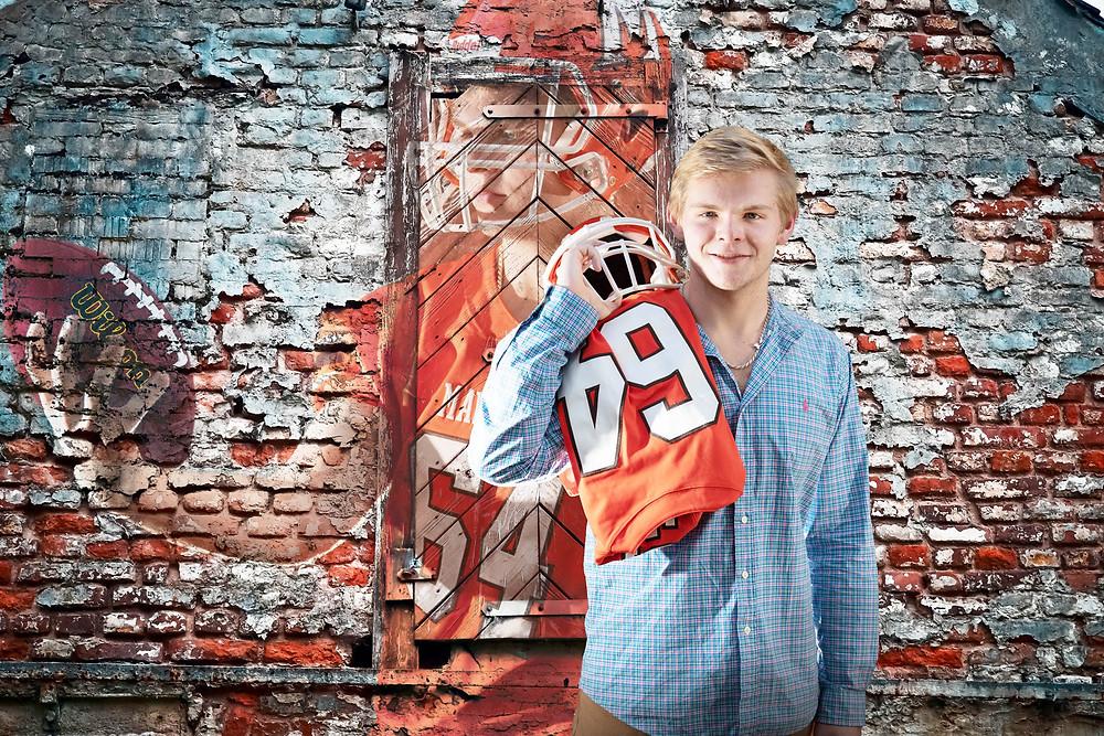 Football Sr Portrait
