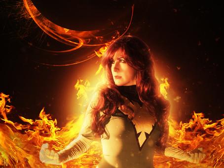Phoenix Photoshoot revisit with @whiteknightcosplay