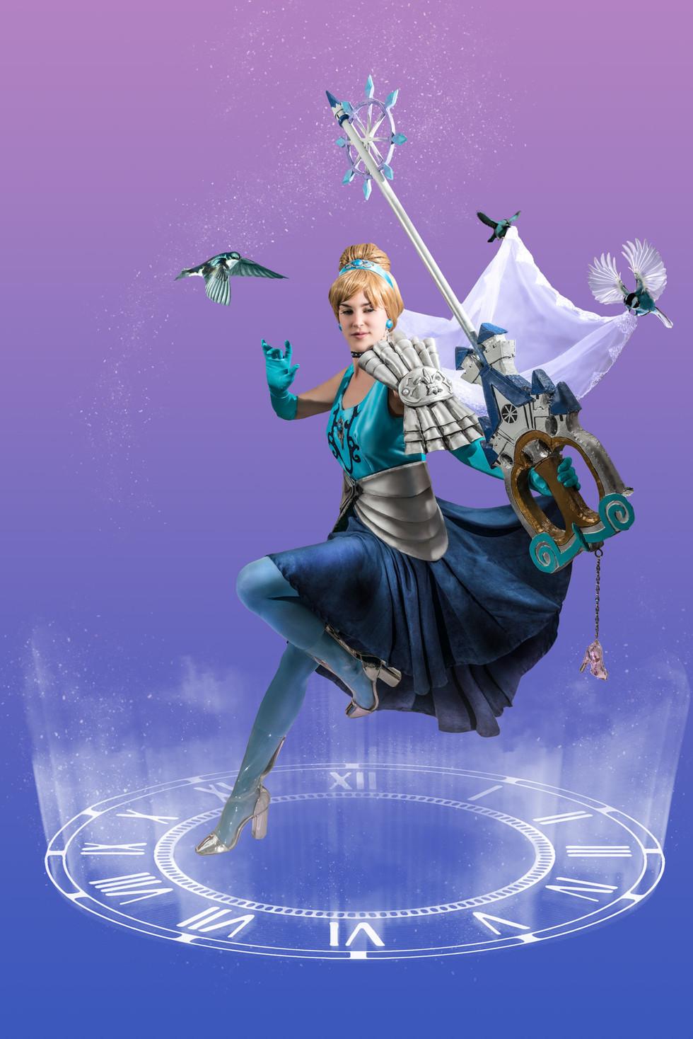 Keyblade Cinderella Sadie By Design