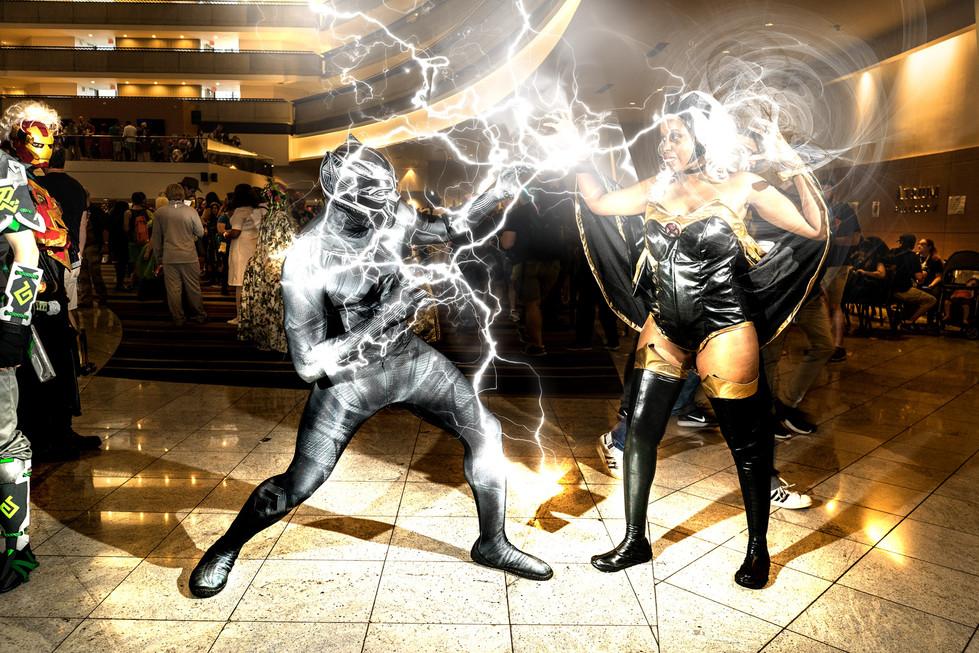 Storm and Black Cat