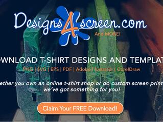 Introducing Designs4Screen.com - Download T-Shirt Designs & Templates