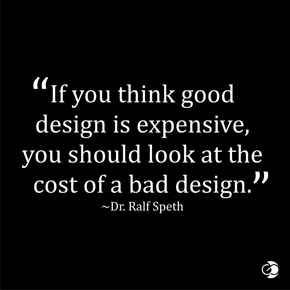 The cost of bad graphic design