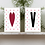 Thumbnail: LOVE Heart Valentine 5x7 Printable Wall / Framed Art