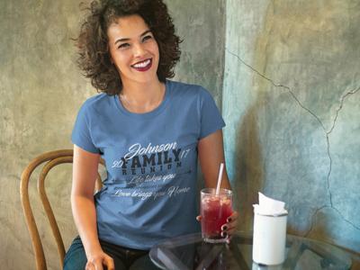 Custom Family Reunion T-Shirt Design
