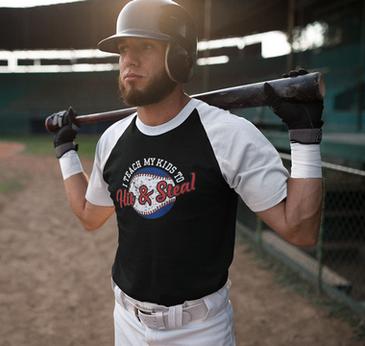 Baseball uniform t-shirt design download