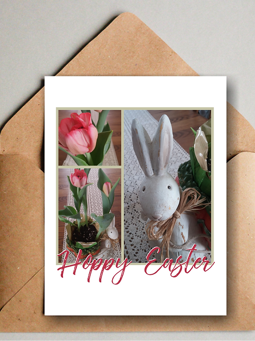 Hoppy Easter Printable Cards