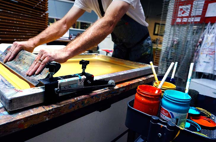 Screen printing tools