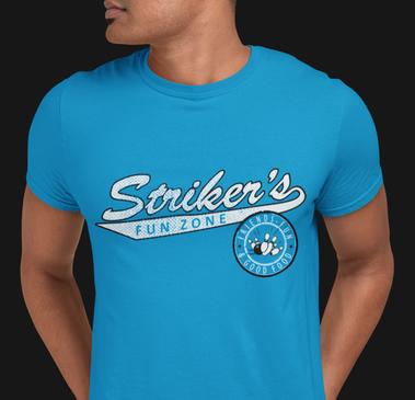 Striker's Sample T Shirt Design Template