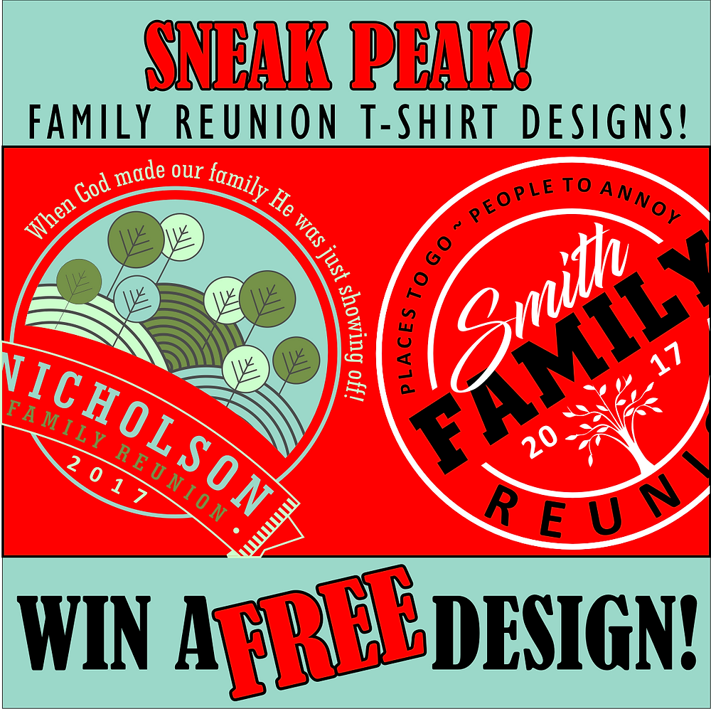 Family Reunion T-Shirt Designs