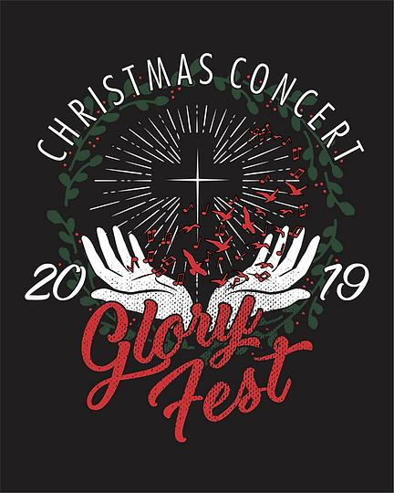 Glory Fest T-Shirts_Front Design.png