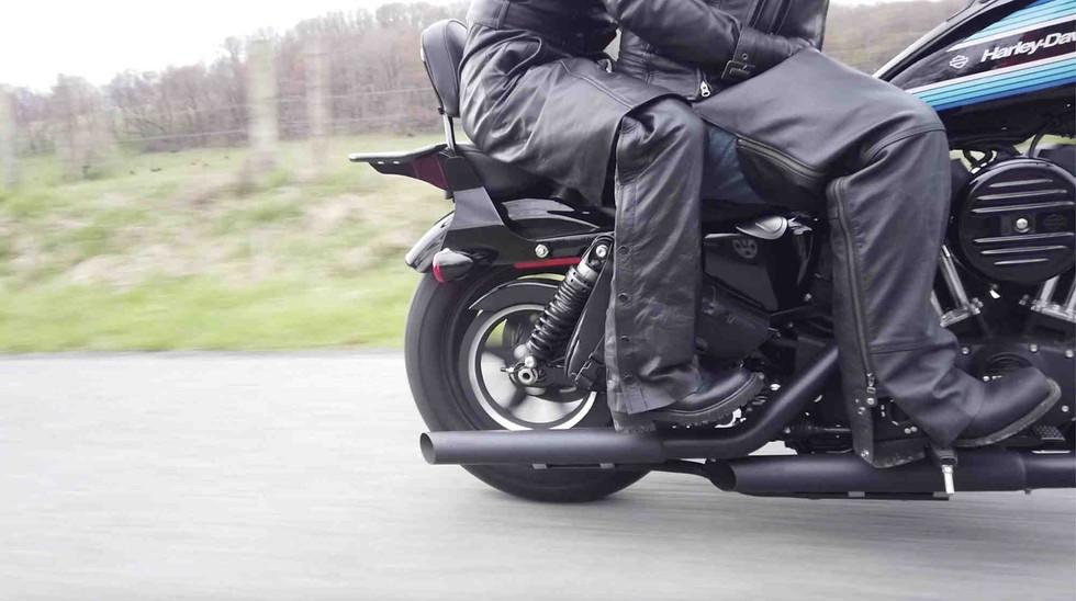 Plunderdog saddlebags passenger footpeg