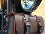 Sportster 1200 PlunderDog 7-piece suit burgundy