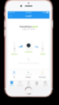 iPhone with AmpliFi App