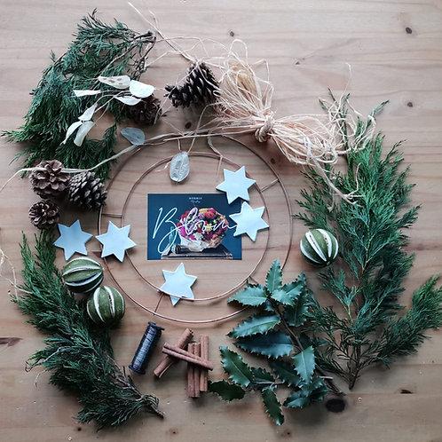 Make @ Home Festive Wreath kit