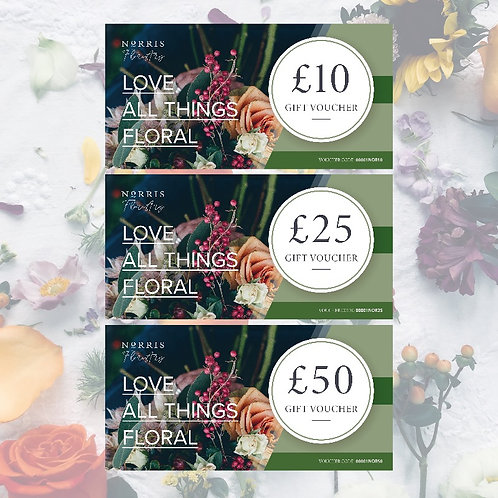 Gift Vouchers - Printed or Online