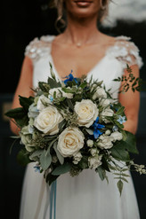 Wedding flowers - hand-tied bouquet