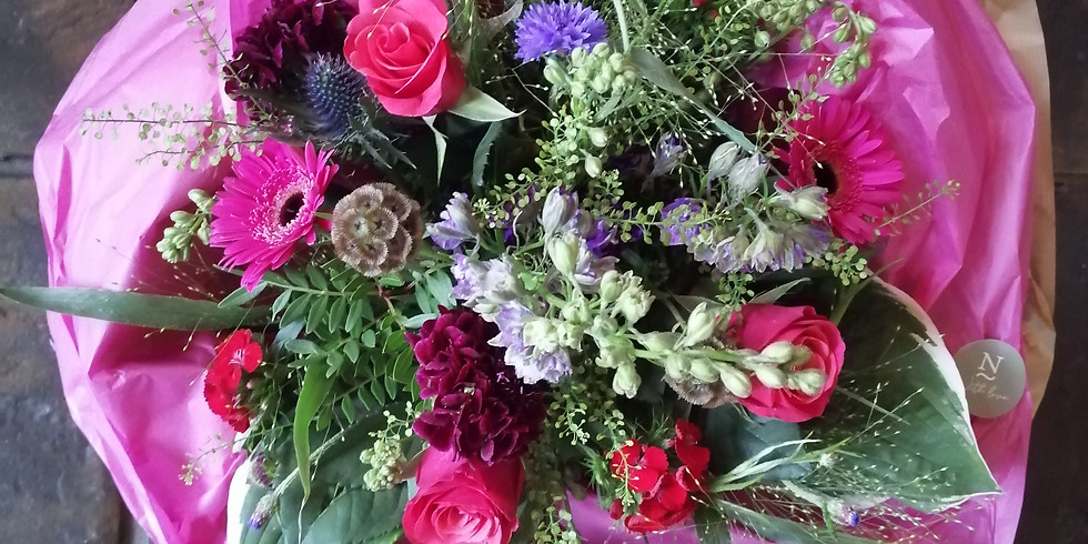 Seasonal Hand-Tied Bouquet Workshop - £60