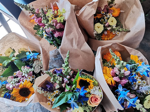 Market Flower Wraps
