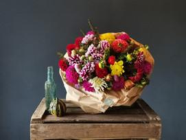 Colour burst bouquet