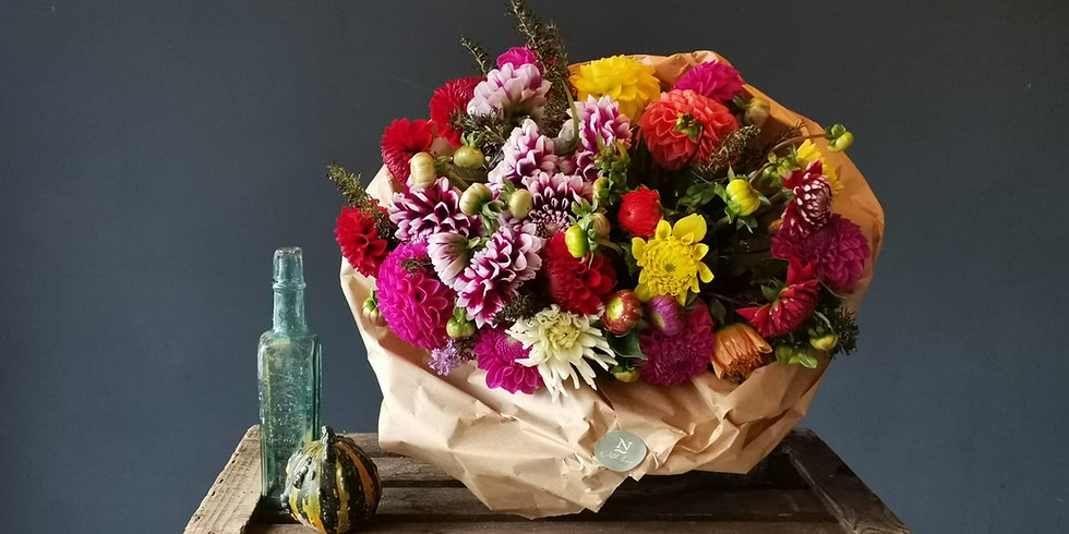 Seasonal Hand Tied Bouquet Class