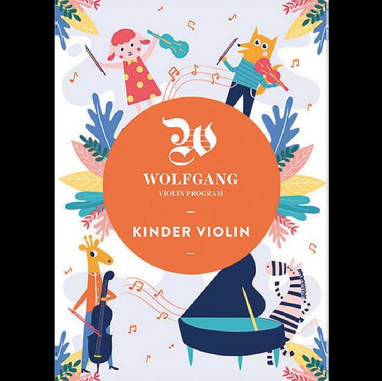Wolfgang Kinder Violin 1