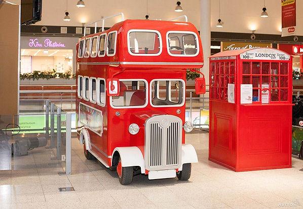 Прогулочный электромобиль London Bus