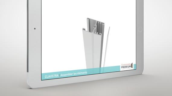 Vidéo montage terrasse - Composite Premium
