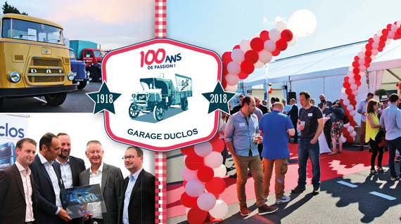 100 ans - Groupe Duclos