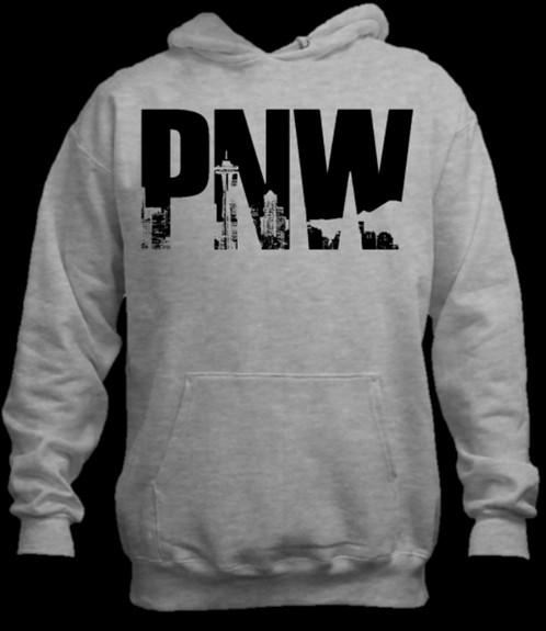PNW Seattle: Hoodie   PNW Designs   Clothing
