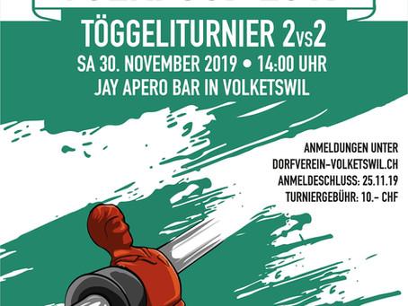 VOLKI CUP - Töggeliturnier 2vs2 @Jay Apero Bar, Volketswil