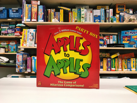 Creative Therapy Tools: Apples to Apples