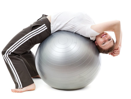 How To Use An Exercise Ball With Your Kids