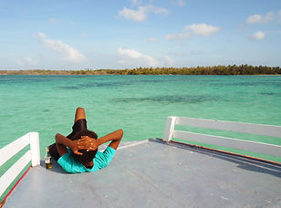 Enjoy Bucco Coral Reef from Boat