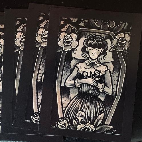 "Dead Girl 5""x7"" (print)"