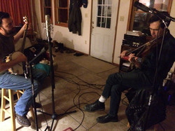 Recording with Kevin Howard