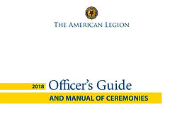 2018 Officer's Guide And Manual of Cerem