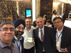 Selfie, Great pose. Steady hand, Dr. Satya!