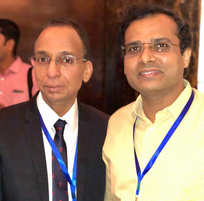 Smile and pose! Drs. Ganesh and Rakesh