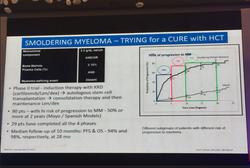 Dr. Hari Educating us on myeloma