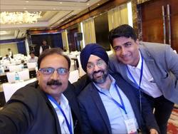 Selfie, Loving it. Good job Dr. Vinod!
