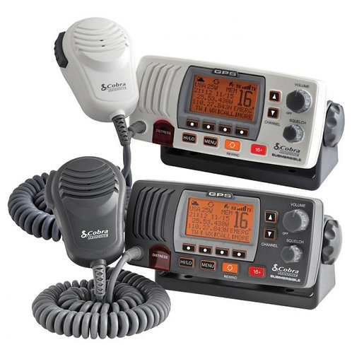 VHF COBRA MARINE 25W WHITE F 75 EU