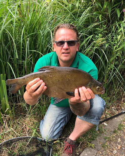 Jamie, Bream off peg 45 on AJ's