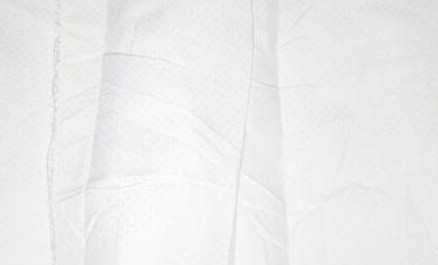 #F11 Plain White Textured Fabric