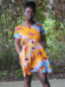 African print fashion - design your own - women gown, shirt, trouser, clothing