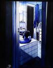 Dans la salle de bain