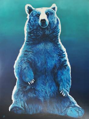 Big Blue Brown Bear
